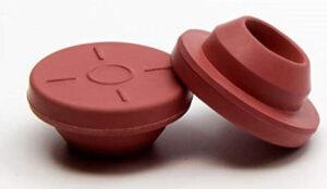 Tapones de vial de 13 mm y 20 mm de color rojo